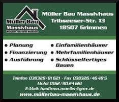 Müller Bau Massivhaus GmbH