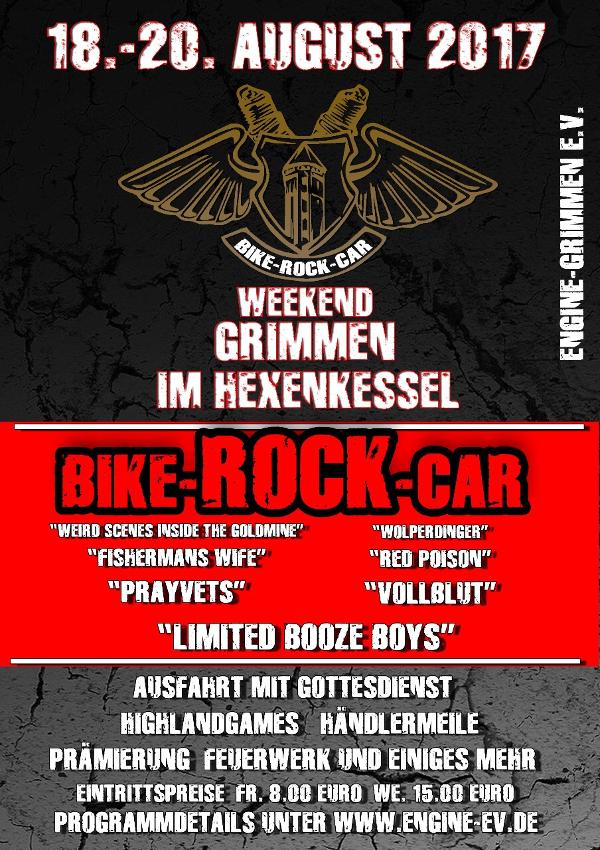 Flyer Bike-Rock-Car Weekend